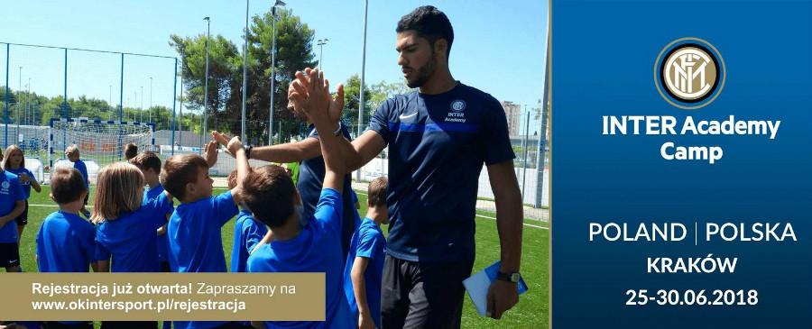 Półkolonie piłkarskie Inter Academy Camp z udziałem trenerów włoskich klubu FC Inter Mediolan